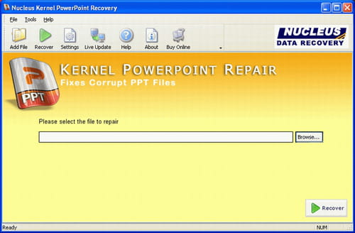 Download the latest version of PowerPoint File Repair free in