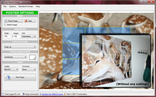 Download the latest version of Easy Poster Printer free in English
