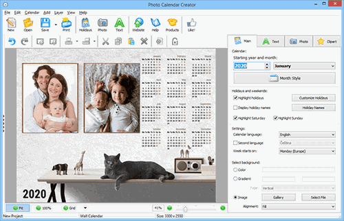 Download The Latest Version Of Custom Photo Calendar Maker Free In English On Ccm Ccm
