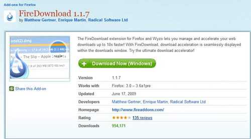 Firefox - Speed up your Download