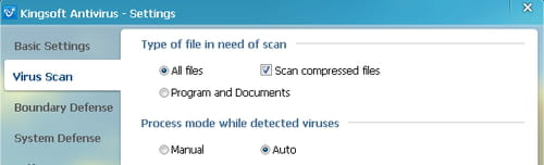 Kingsoft Free Antivirus- Automatically delete viruses