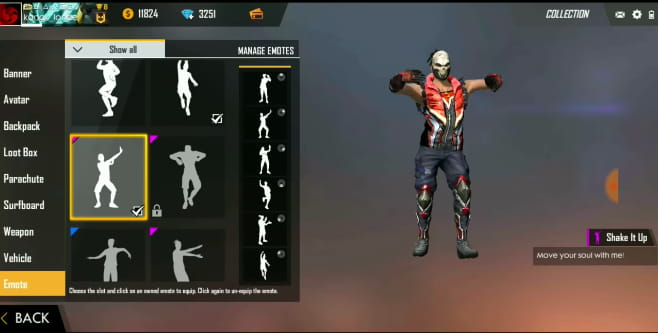 How To Unlock All Emotes In Garena Free Fire Ccm