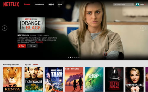 Download the latest version of Netflix for Chrome free in English on CCM