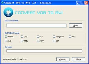 convert.vob files to.avi
