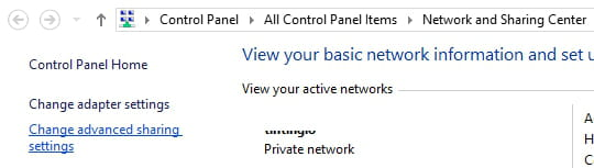 how do i turn on network discovery in network and sharing center