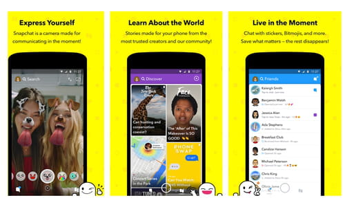 Download the latest version of Snapchat for Android free in