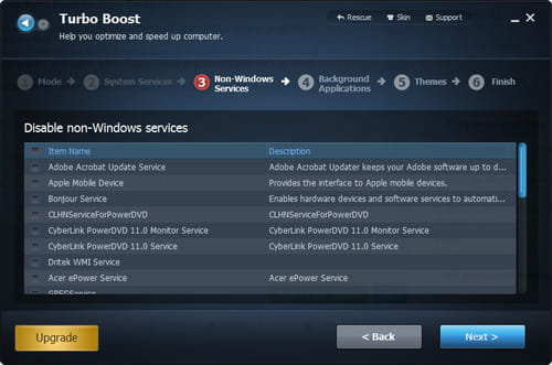 Advanced SystemCare -Free - Configure Turbo boost for gaming