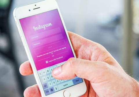 Reset Instagram password: without email, using Facebook