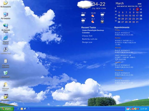 Download the latest version of active desktop calendar for Computer planner software