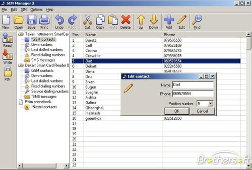dekart sim card reader software free download