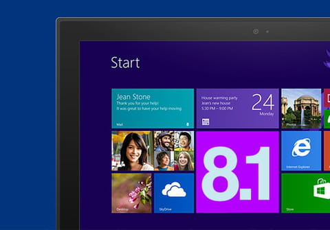 Download and install Windows 8.1: from ISO, installer