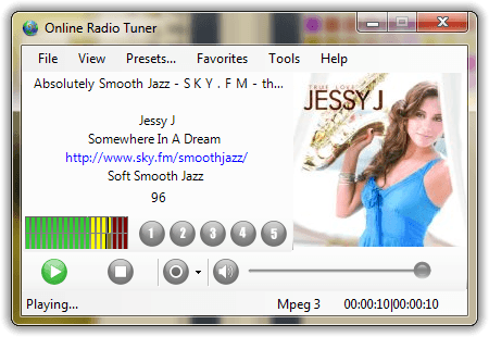 Download the latest version of Online Radio Tuner free in English on
