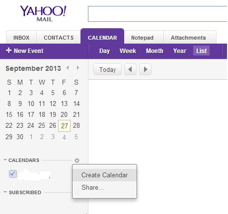 Yahoo Calendars Appointments And Tasks