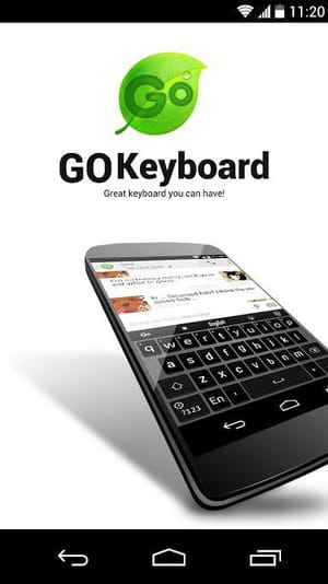 Download the latest version of GO Keyboard free in English