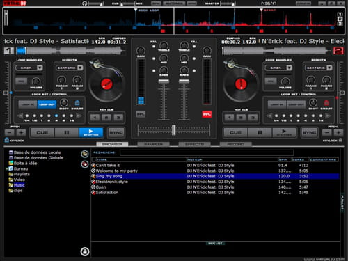 Download the latest version of DJ Mix Lite free in English