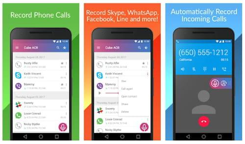 WhatsApp Cube Call Recorder ACR for whatsapp facebook