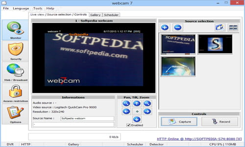 Download the latest version of Webcam 7 free in English on CCM