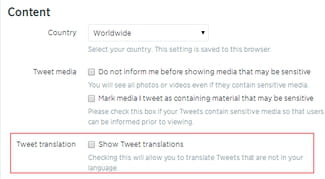 478c24127d2 Twitter - Turn off Tweet translation