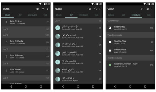 Download the latest version of Quran for Android free in English on CCM
