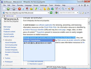 Download the latest version of Slim Browser free in English on CCM