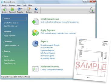 software invoice free