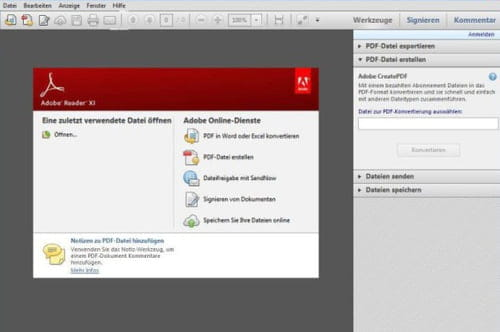 Download the latest version of Acrobat Reader free in English