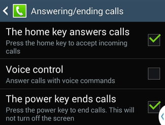 Android - Manage Your Phone Calls Using the Power and Home Keys