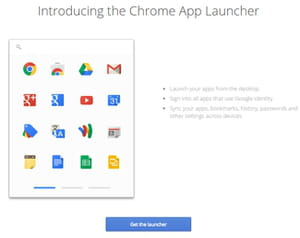 Launch Google Apps from Your Desktop