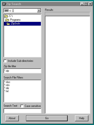 Download the latest version of Zip Search free in English on CCM