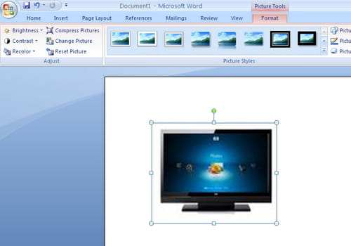 how to insert a picture in a word document