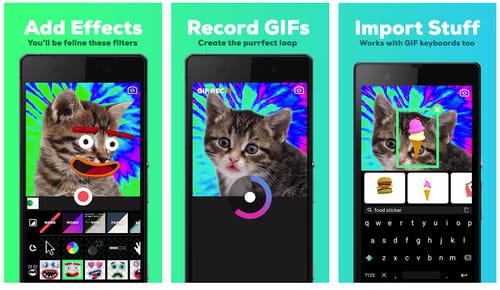 Giphy Cam aplikacija