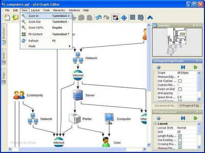 Download the latest version of yed graph editor for windows free in key features ccuart Images