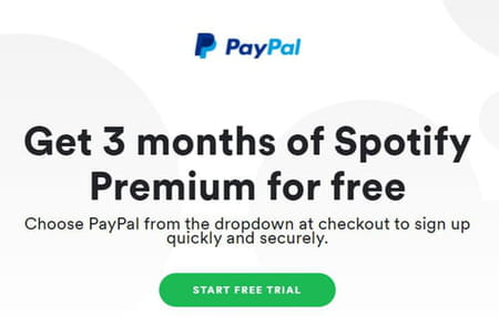 Spotify and PayPal Premium