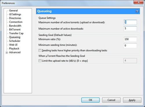 utorrent add torrent window not showing
