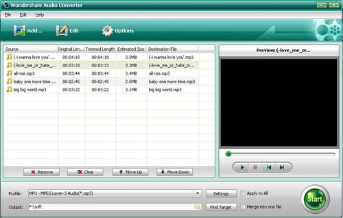 Download the latest version of Wondershare Audio Converter free in