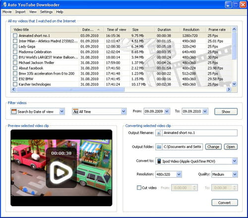 Download the latest version of Auto YouTube Downloader free