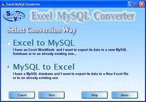 Download the latest version of Excel-MySQL converter free in