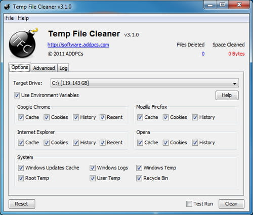 Download The Latest Version Of Temp File Cleaner Free In English On Ccm Ccm