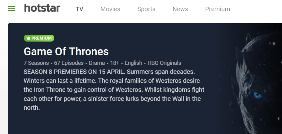 How To Watch Game of Thrones Online Legally
