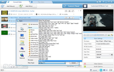 Download the latest version of Any Video Converter free in