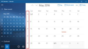 Calendario Windows 10 Su Desktop.Week Numbers In Windows 10 Calendar