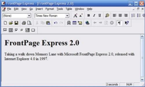 2.0 EXPRESS TÉLÉCHARGER FRONTPAGE