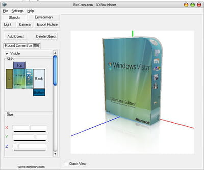 Download the latest version of 3D Box Maker free in English