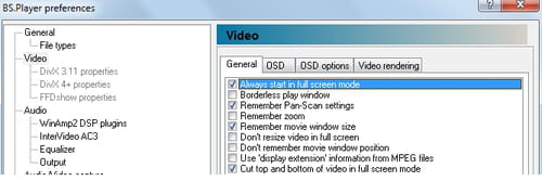 Bsplayer always start videos in full screen mode ccuart Images