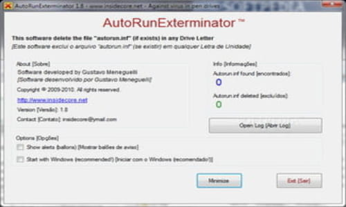 Download the latest version of Autorun Exterminator free in