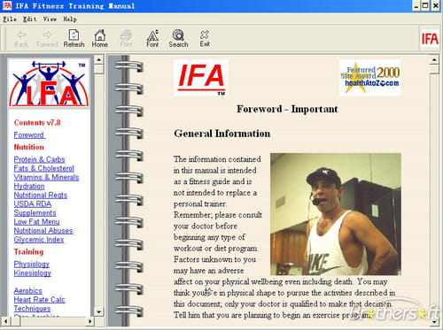 Download the latest version of Fitness Training Manual free