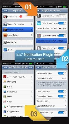 💋 Espier control center ios7 pro apk | Get Espier Launcher iOS7 www