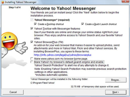 Download the latest version of Yahoo! Messenger free in
