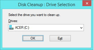 how to clean c drive temporary files