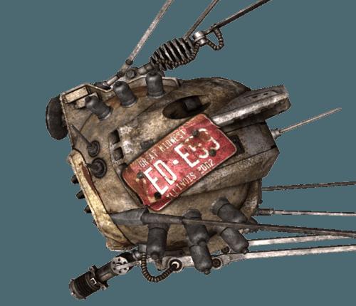 Fallout New Vegas Ed E Companion Lost